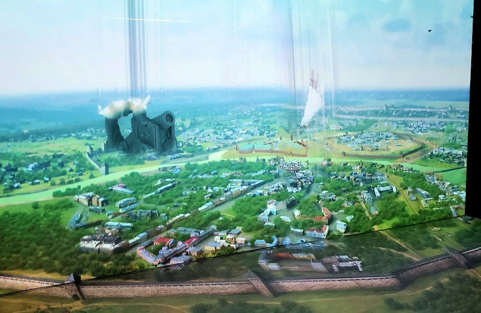 フェデレーションタワーの展望台にあるアニメーションルームの景色-3
