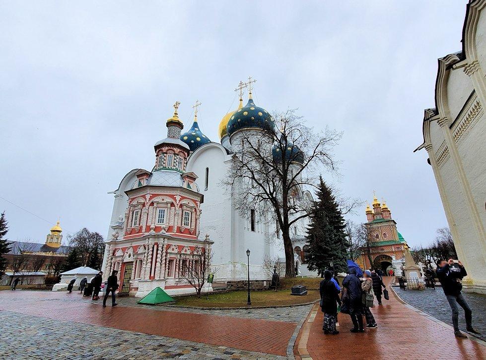 セルギエフ・ポサードにあるトロイツェ・セルギエフ大修道院