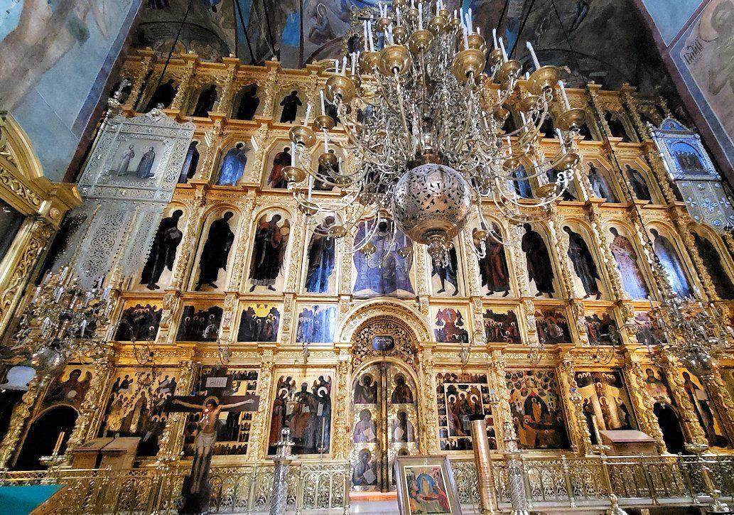 ウスペンスキー大聖堂内の祭壇-4