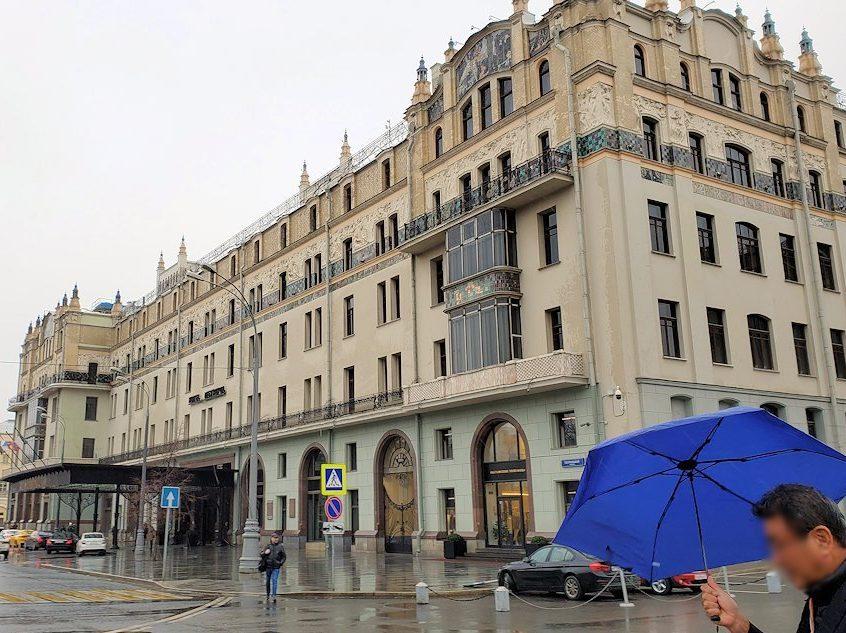 モスクワ市内中心部にある「メトロポール・ホテル」周辺-3