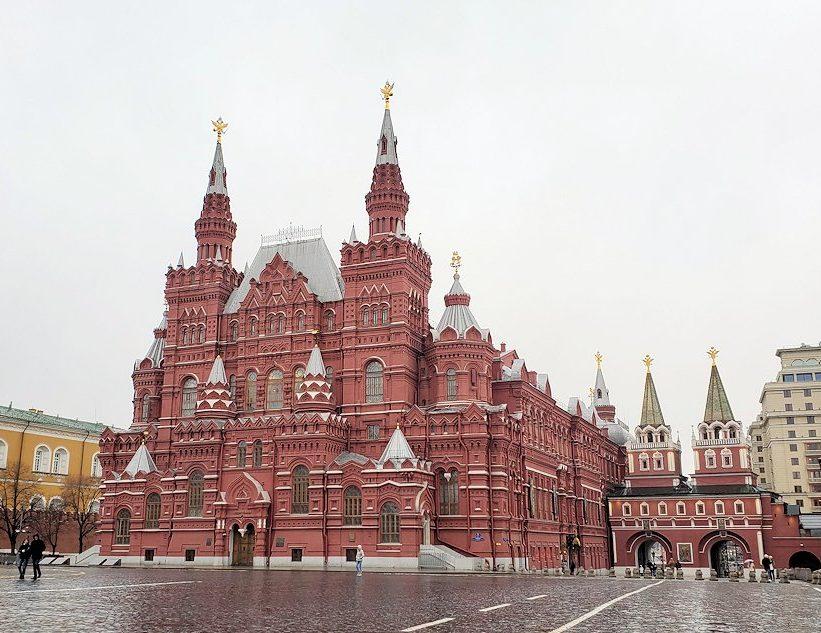 赤の広場周辺に建てられている建物