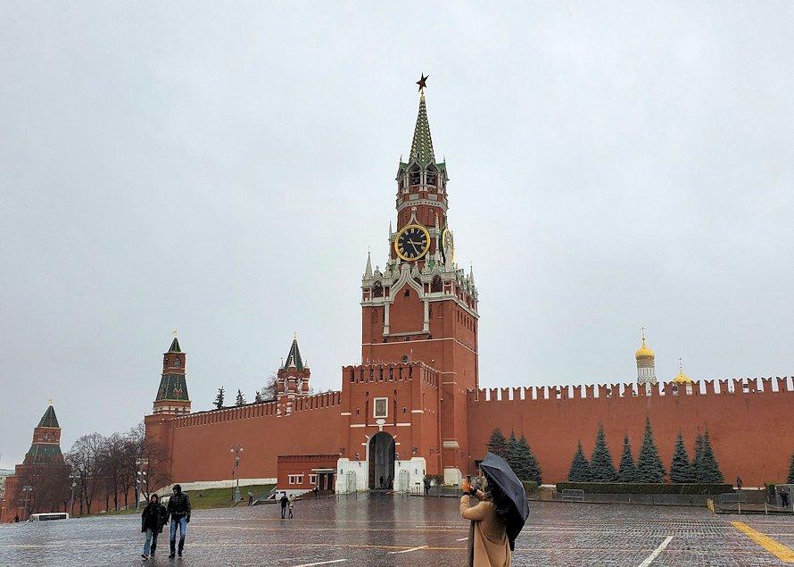 赤の広場周辺に建てられているスパスカヤ塔