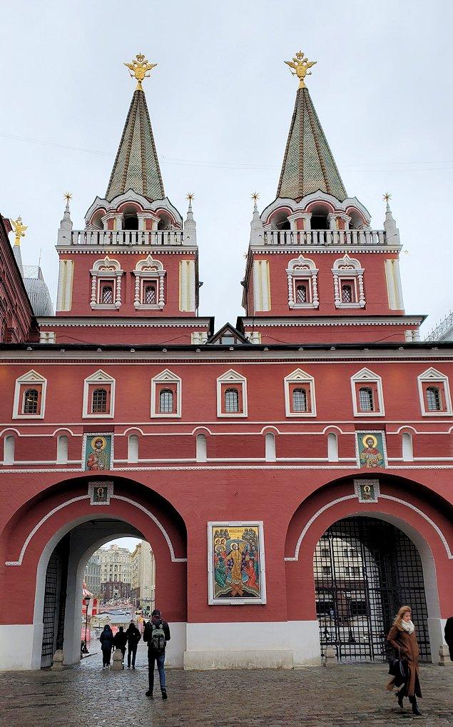 赤の広場周辺にある「ヴァスクレセンスキー門」