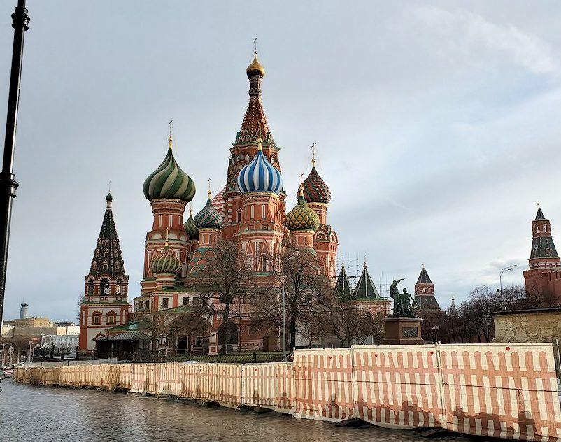 赤の広場にある聖ワシリー寺院