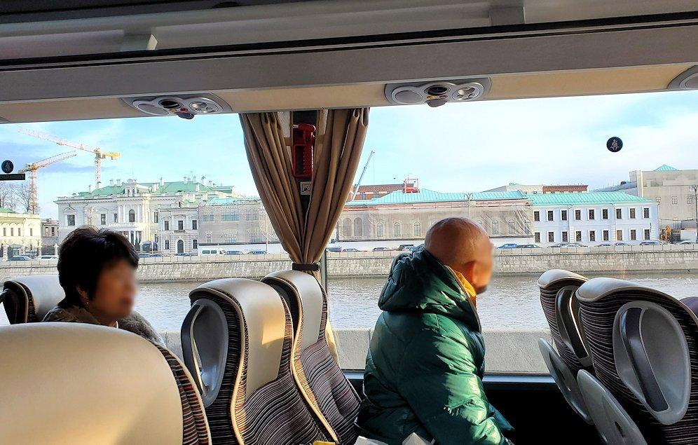 モスクワ市内を走るバスからの景色-3