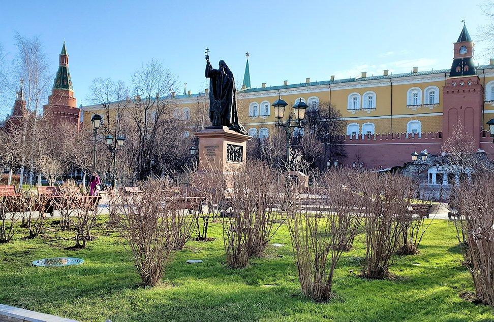 モスクワのクレムリン周辺にあるアレクサンドロフスキー庭園