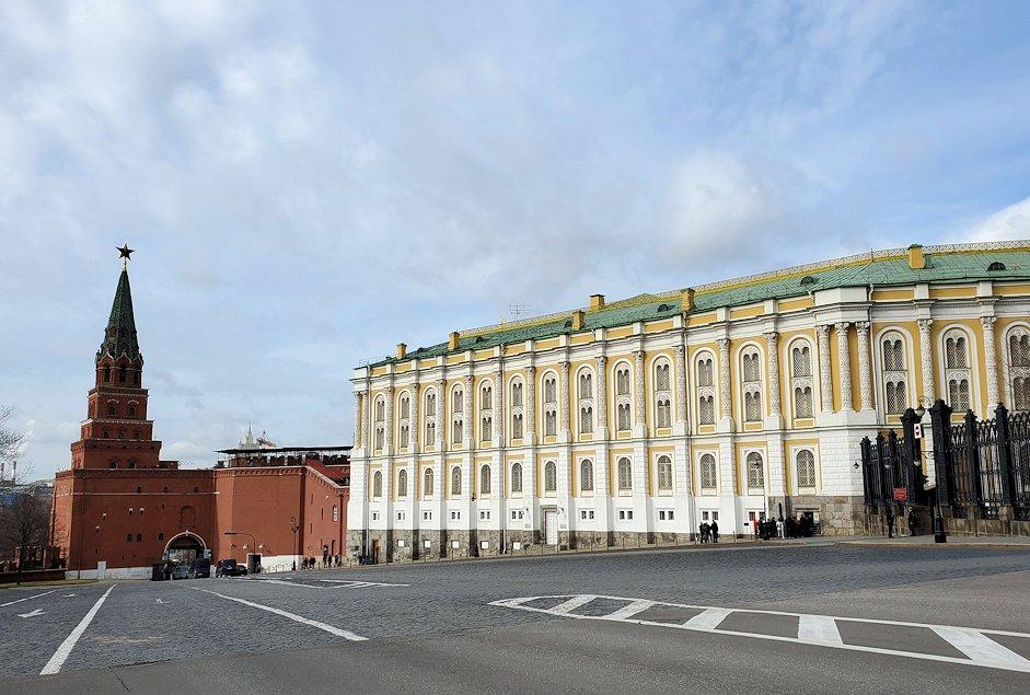 モスクワのクレムリン内の景色
