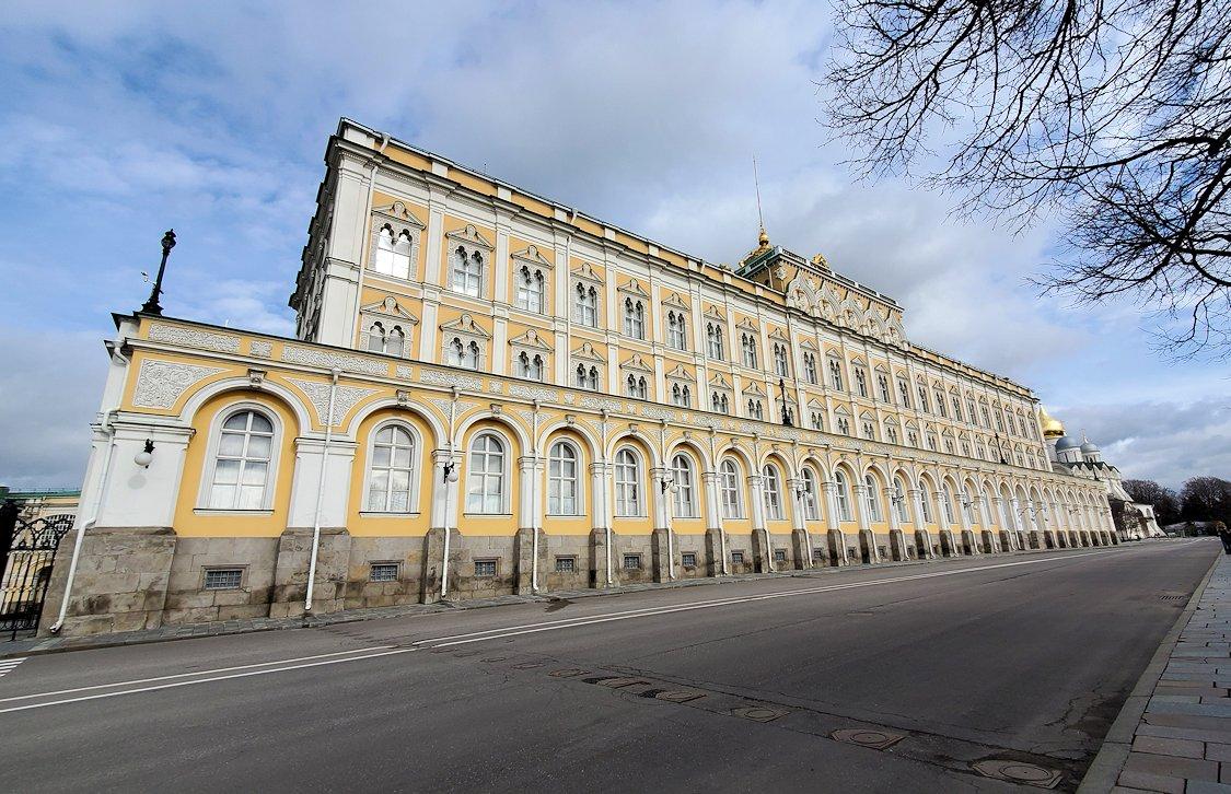 モスクワのクレムリン内にある大クレムリン宮殿