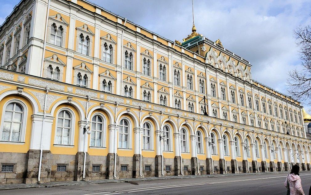 モスクワのクレムリン内にある大クレムリン宮殿-2