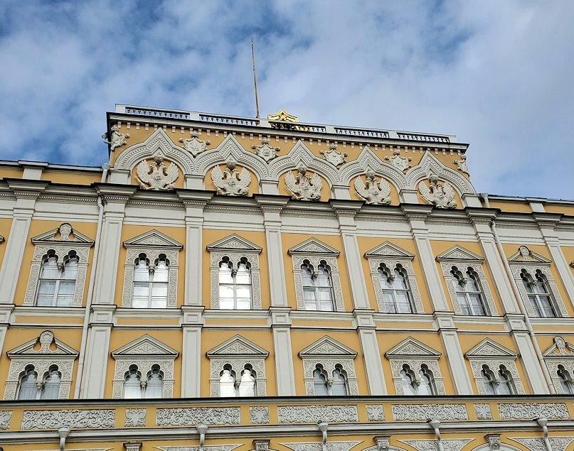 モスクワのクレムリン内にある大クレムリン宮殿-3
