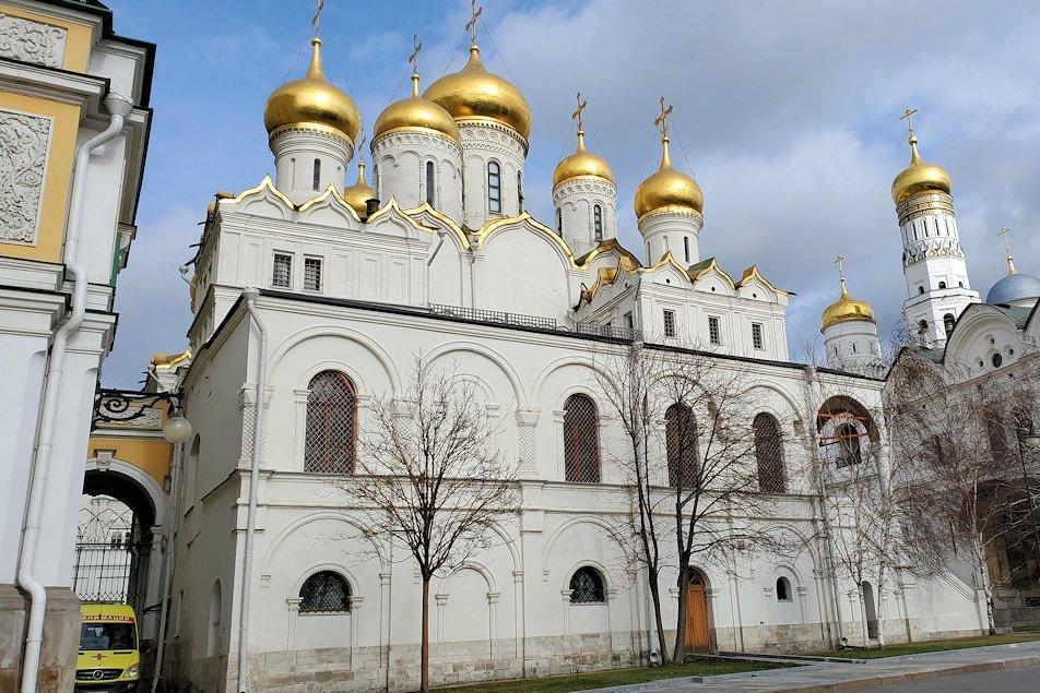 モスクワのクレムリン内にあるロシア正教の教会群