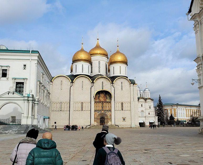モスクワのクレムリン内にある大聖堂広場