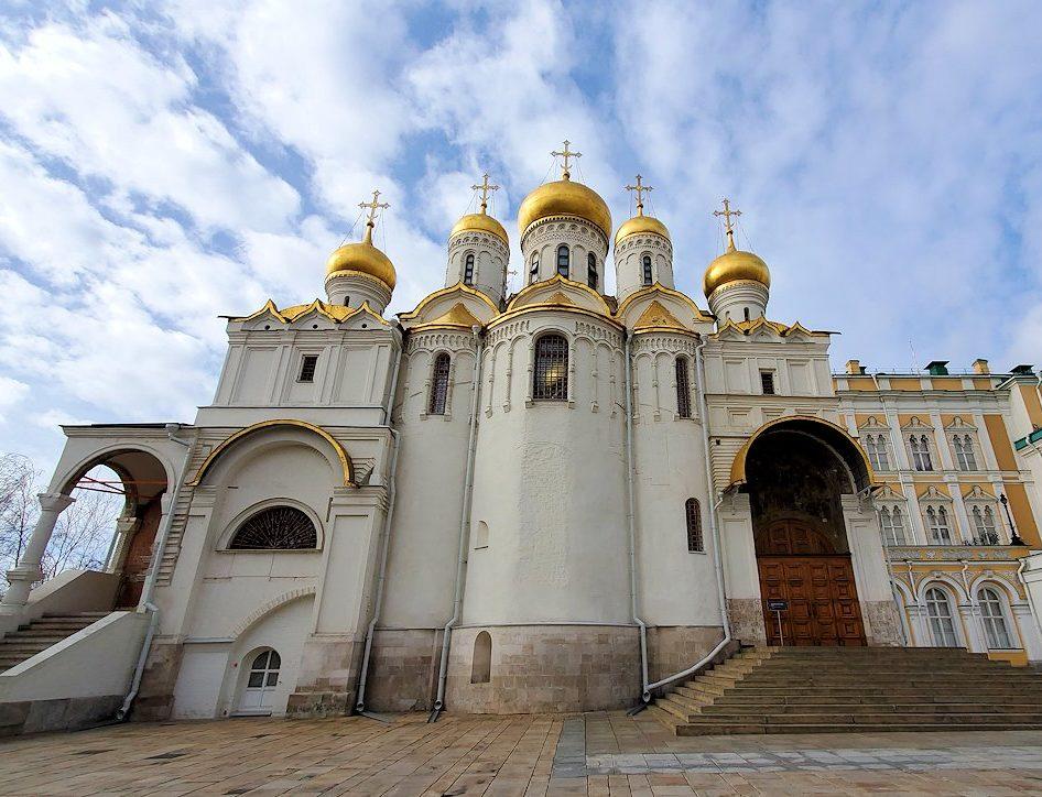 モスクワのクレムリン内にあるブラゴヴェシェンスキー聖堂