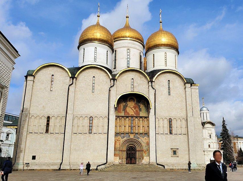 モスクワのクレムリン内のロシア正教の大聖堂群