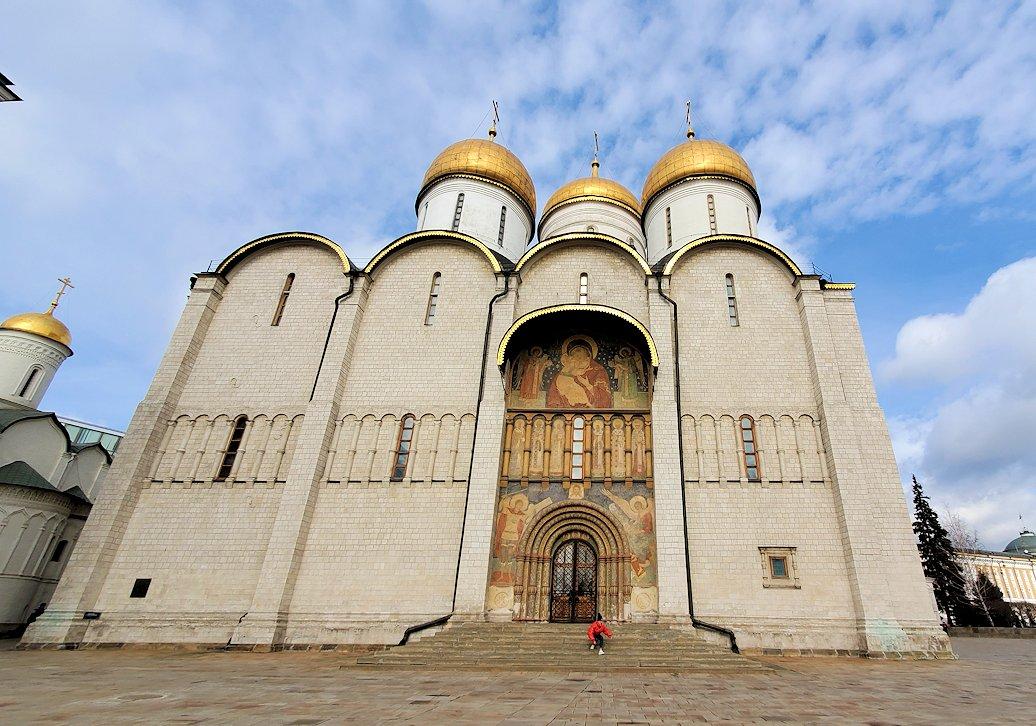 モスクワのクレムリン内にあるウスペンスキー大聖堂