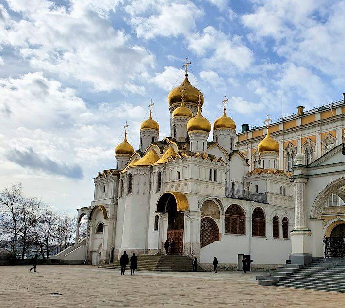 クレムリン内のロシア正教の建物