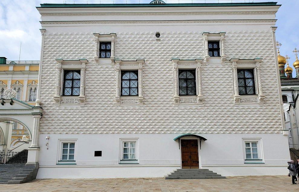 モスクワのクレムリン内にあるグラノヴィタヤ宮殿