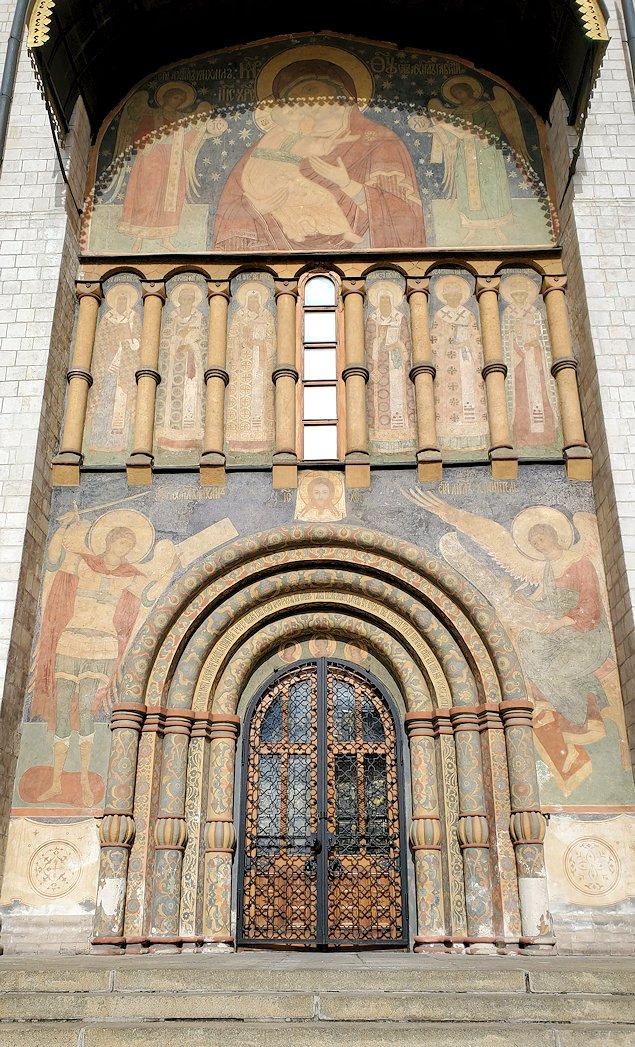モスクワのクレムリン内にあるロシア正教のウスペンスキー大聖堂