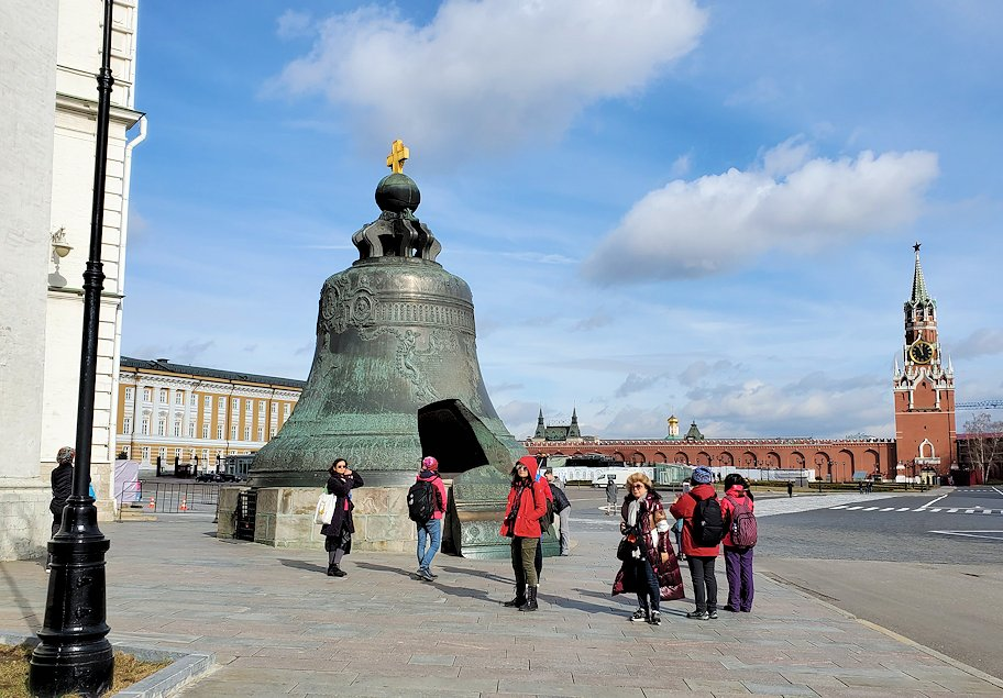 モスクワのクレムリン内にある「鐘の皇帝(ツァーリ・コロコル)」