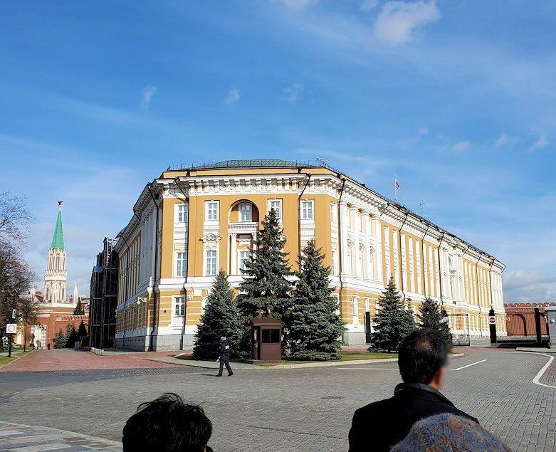 クレムリン内にある、ロシア大統領官邸
