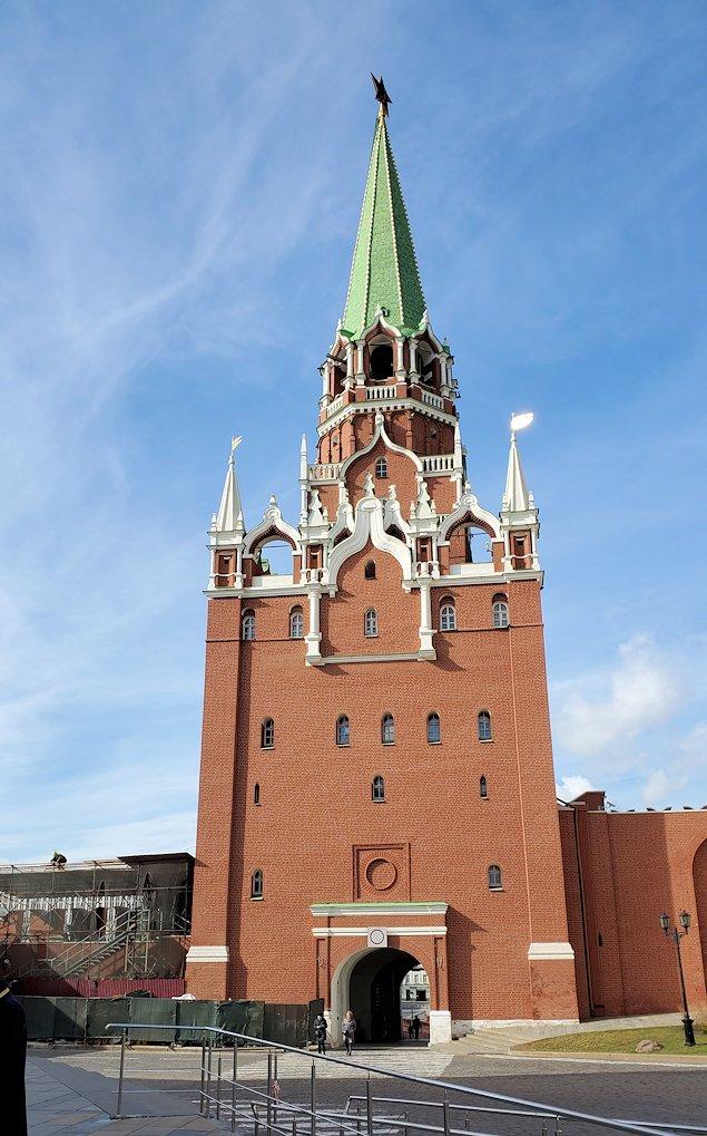 クレムリン内にあるトロイツカヤ塔
