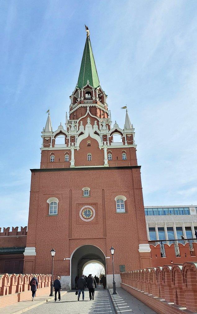トロイツカヤ塔の景色