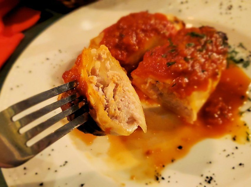 【レストラン】L. Brik Restaurantで出てきたロールキャベツ-3
