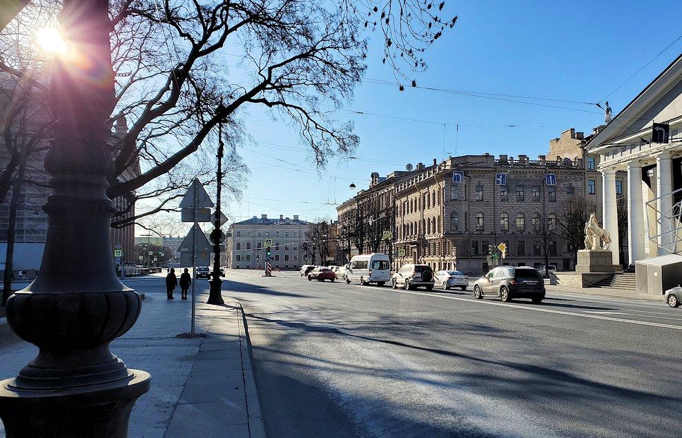 元老院広場周辺の様子