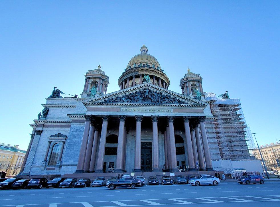 元老院広場周辺にある、大きなイサク大聖堂-2