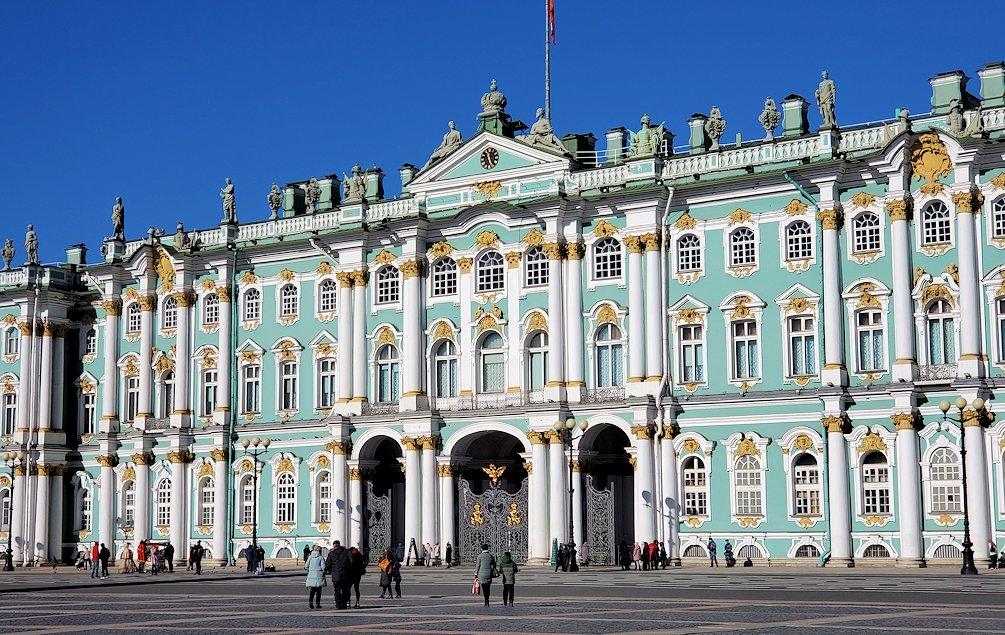 ロシアが世界に誇る、エルミタージュ美術館