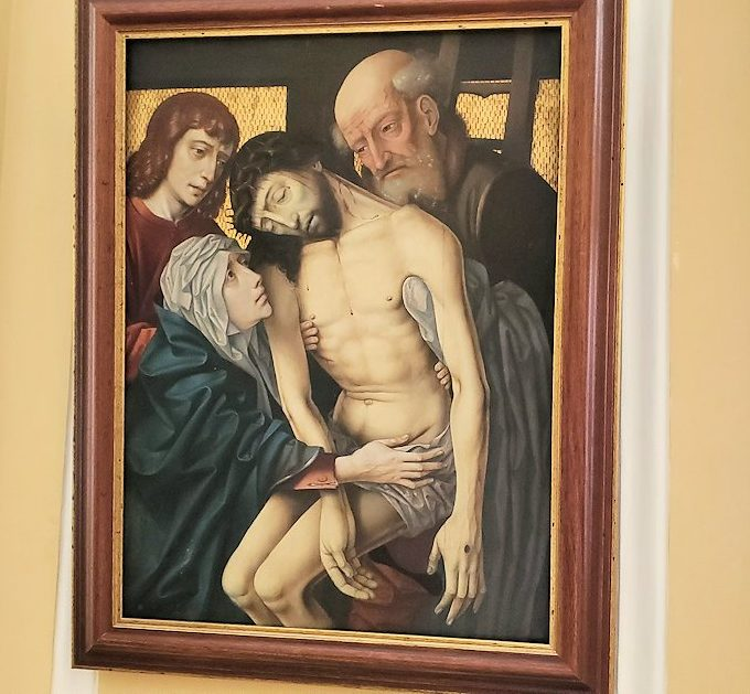 エルミタージュ美術館に飾られている絵画