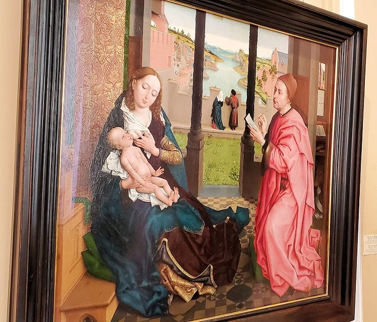 『マドンナの肖像画を描く聖ルカ』(Saint Luke Drawing the Virgin)
