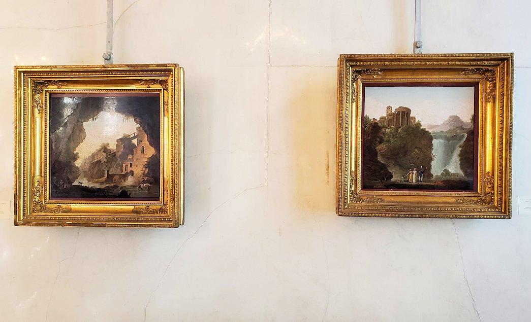 エルミタージュ美術館の「パヴィリオンの間」に飾られている絵画