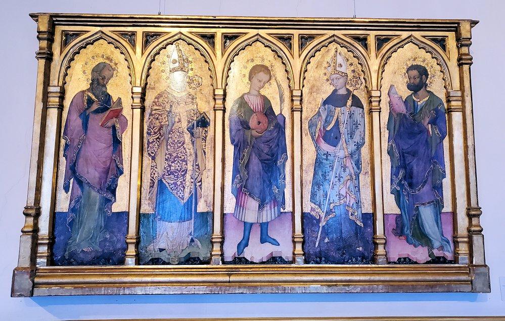 エルミタージュ美術館の「初期イタリア・ホール」に飾られている絵画