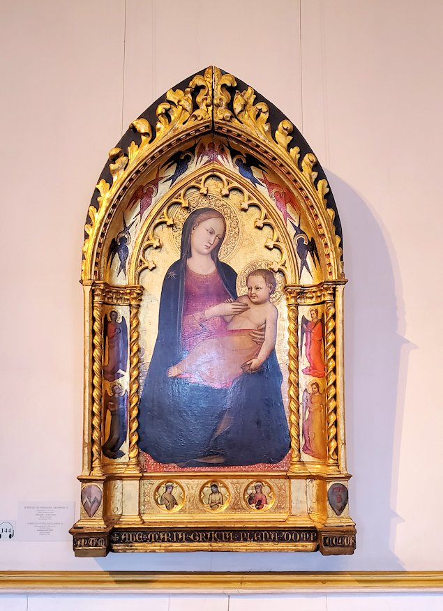 エルミタージュ美術館の「初期イタリア・ホール」に飾られている絵画-1