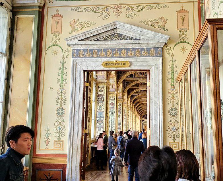 エルミタージュ美術館にある「ラファエロの回廊」