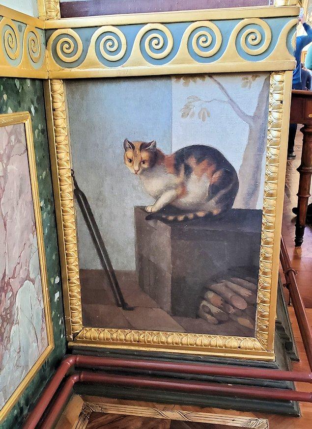 エルミタージュ美術館にある「ラファエロの回廊」に描かれている猫ちゃんの絵
