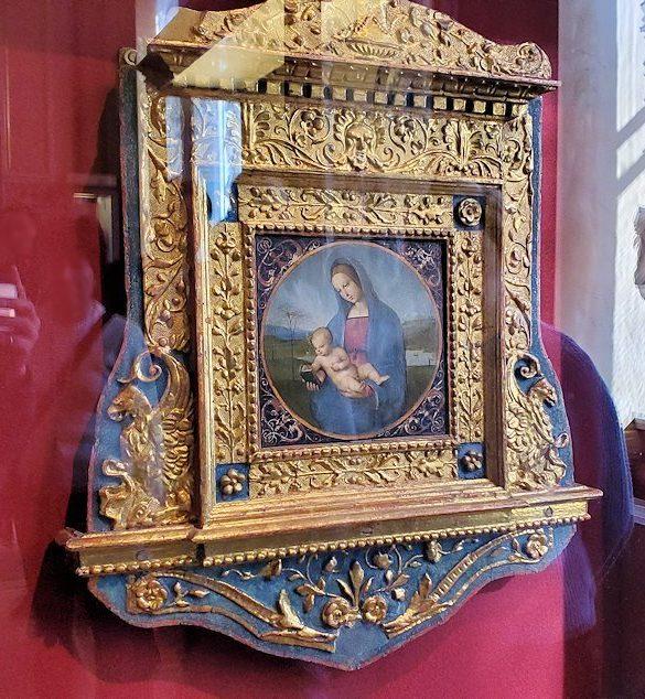 『コネスタービレの聖母』(Conestabile Madonna) by ラファエロ・サンティ(Raffaello Santi)