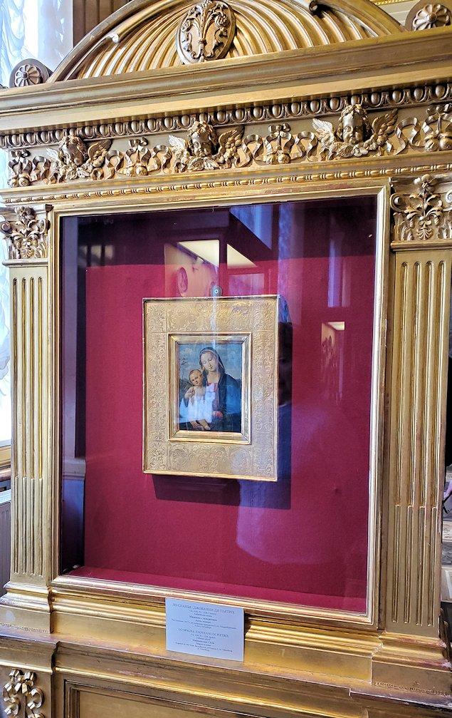 『聖母子』(Madonna and Child) by ジョバンニ・ディ・パオロ(Giovanni di Paolo)