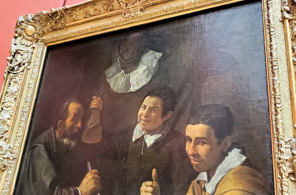 『昼食』 (The Lunch) by ディエゴ・ベラスケス(Diego Velázquez)