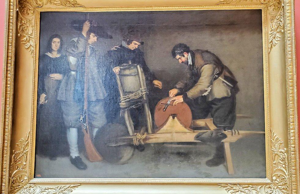 『研ぎ師』 (knife grinder) by アントニオ・デ・プーガ(Antonio de Puga)