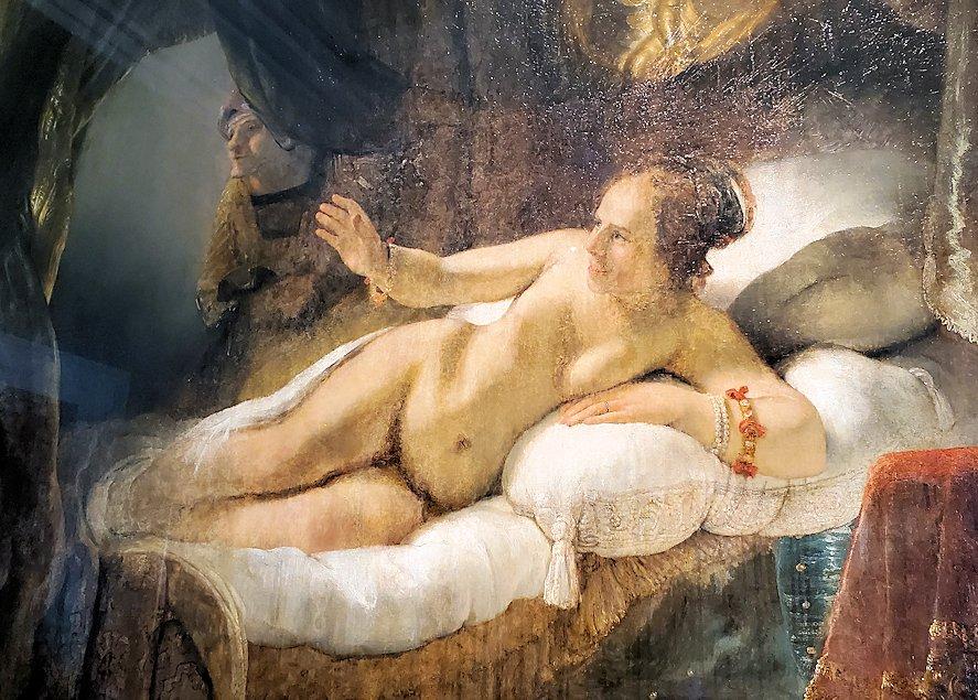 『ダナエ』 (Danae) by レンブラント・ファン・レイン(Rembrandt van Rijn)