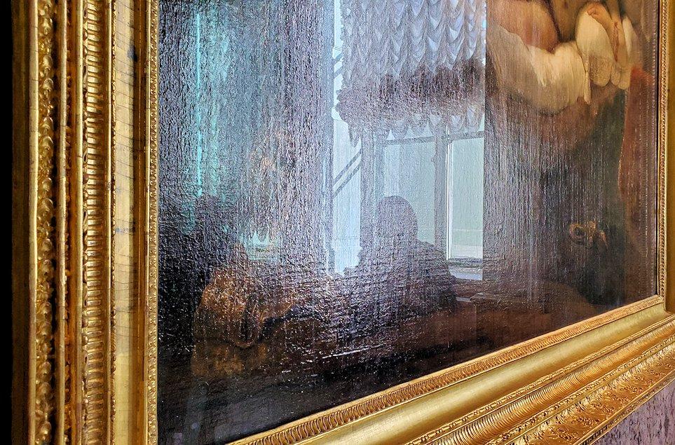 『ダナエ』 (Danae) by レンブラント・ファン・レイン(Rembrandt van Rijn) 硫酸を掛けられた痕