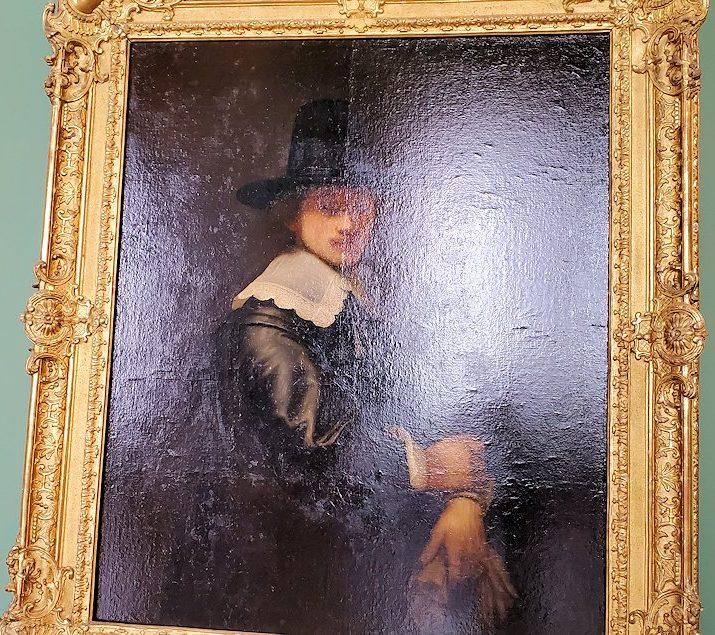 エルミタージュ美術館だけで、なんと24枚も所蔵されているという。日本にレンブラントの絵-2