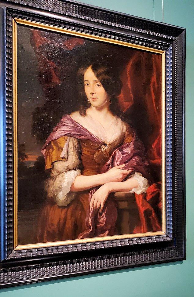 『若い婦人の肖像』 (Portrait of a Young Woman) by ニコラース・マース (Nicolaes Maes)