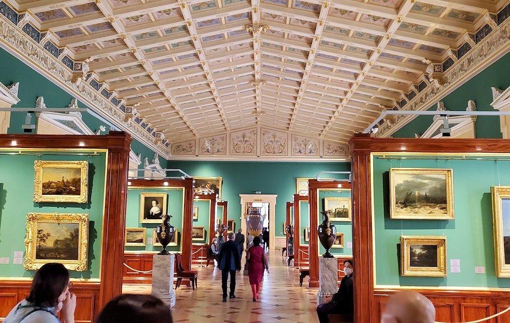 エルミタージュ美術館の「17世紀オランダ美術の間」