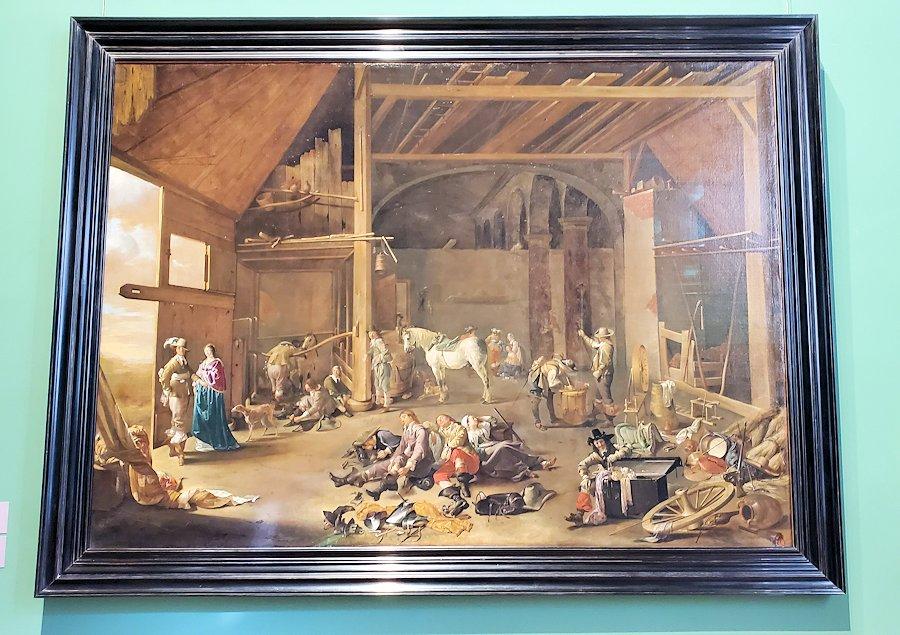 エルミタージュ美術館の絵画
