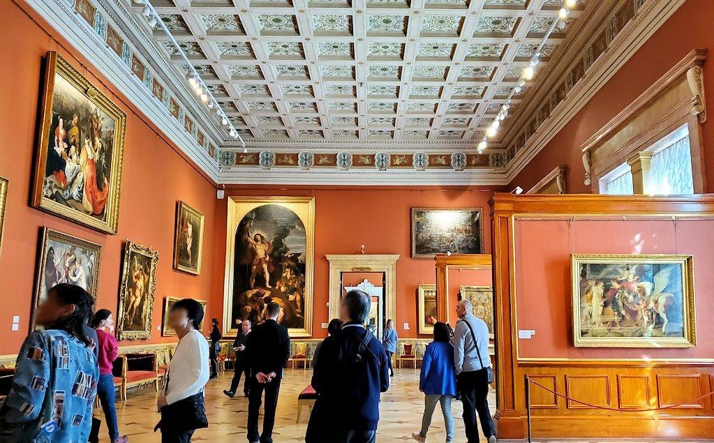エルミタージュ美術館の「ルーベンスの間」