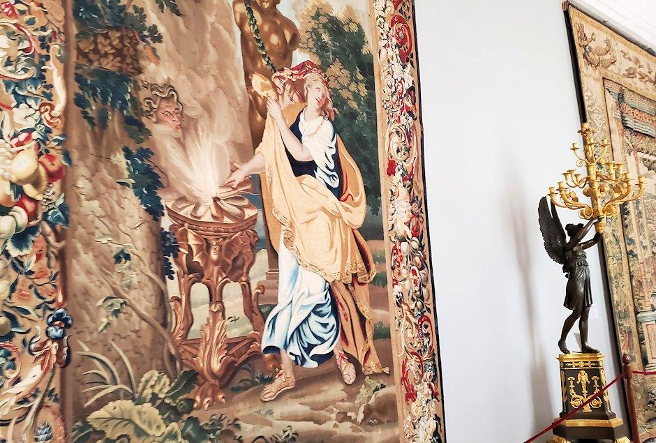 エルミタージュ美術館に飾られているタペストリー