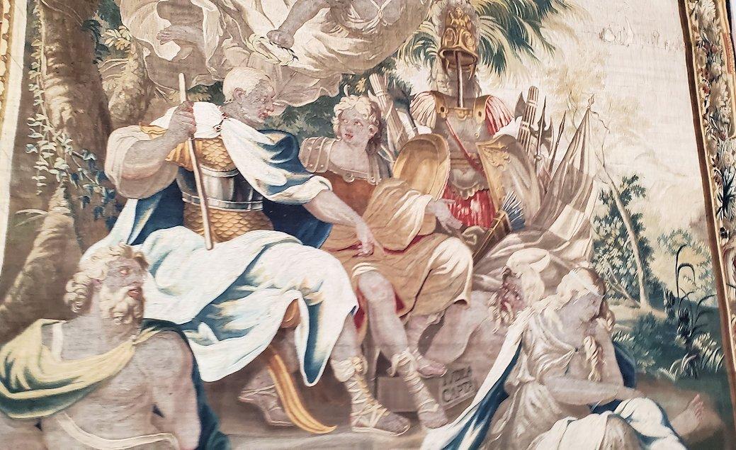 エルミタージュ美術館に飾られているタペストリー-1
